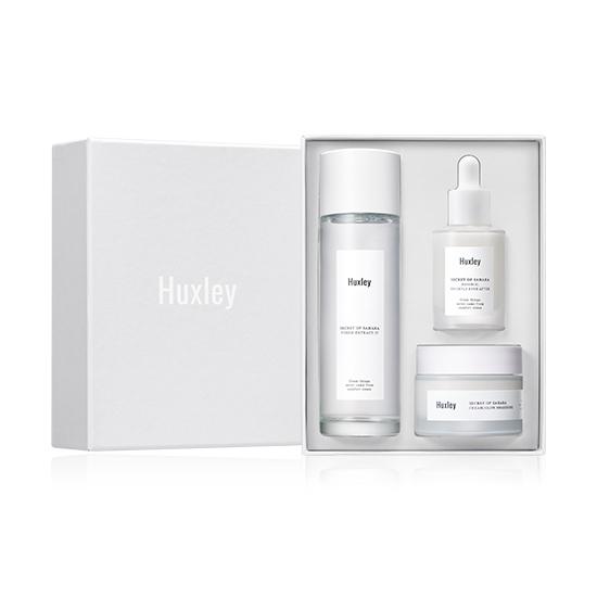 ShiPAPA Huxley 仙人掌美白三重奏護膚禮盒 韓國直送 香港 澳門